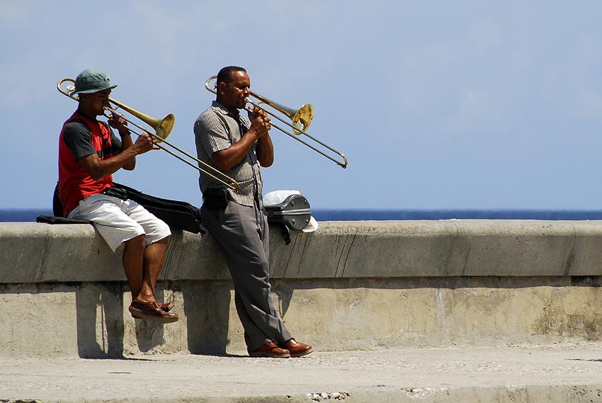 Musicians in Havana, Cuba.