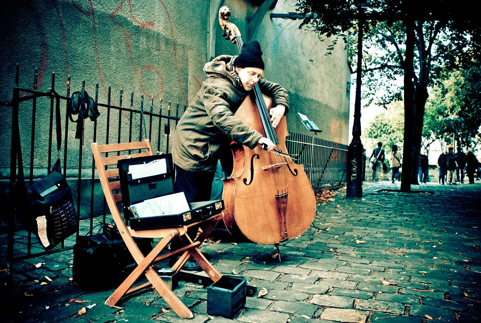 Musicien de Rue .