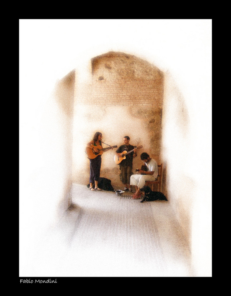 Musicisti di strada...Spagna