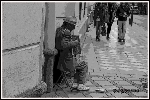 Musico callejero 1.