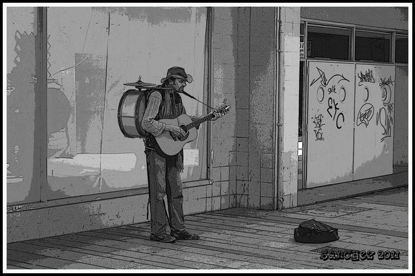Musico callejero 2.