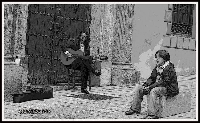 Musico callejero 3.
