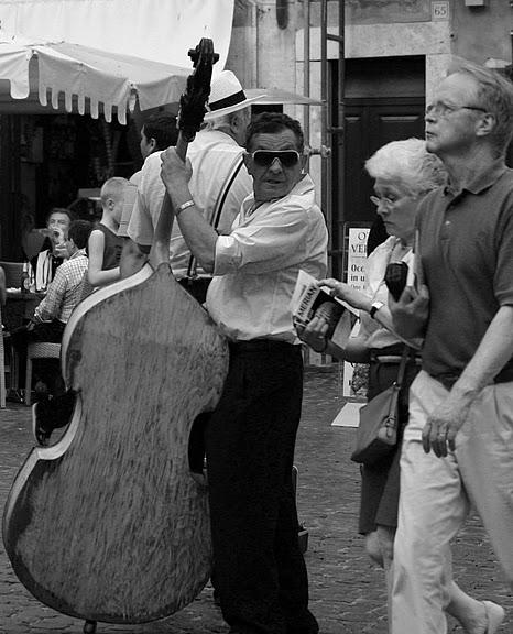 Músico en Roma