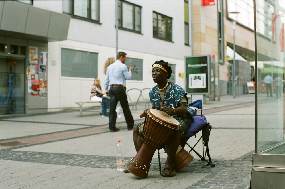 Musik auf der Strasse