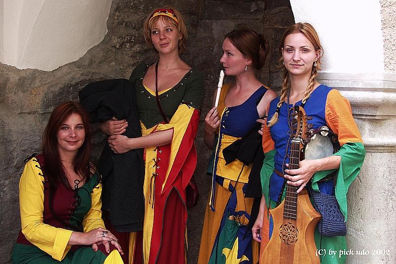 Musik aus dem Mittelalter zu Falkenstein/Bayern