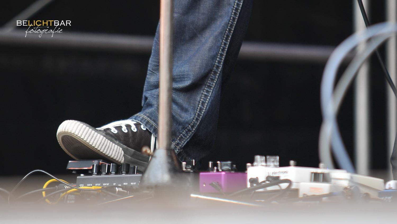 Musik im Fuß