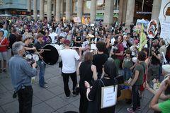 Musik nach Demo - K21 Stuttgart 20.8.2010