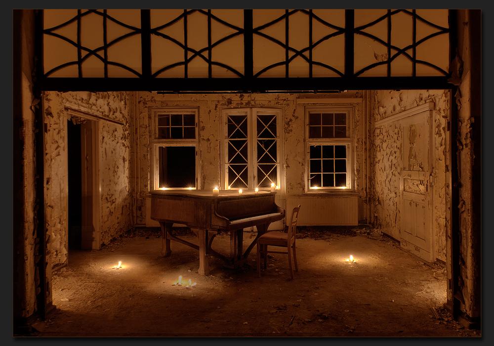 Musik und Kerzenschein...