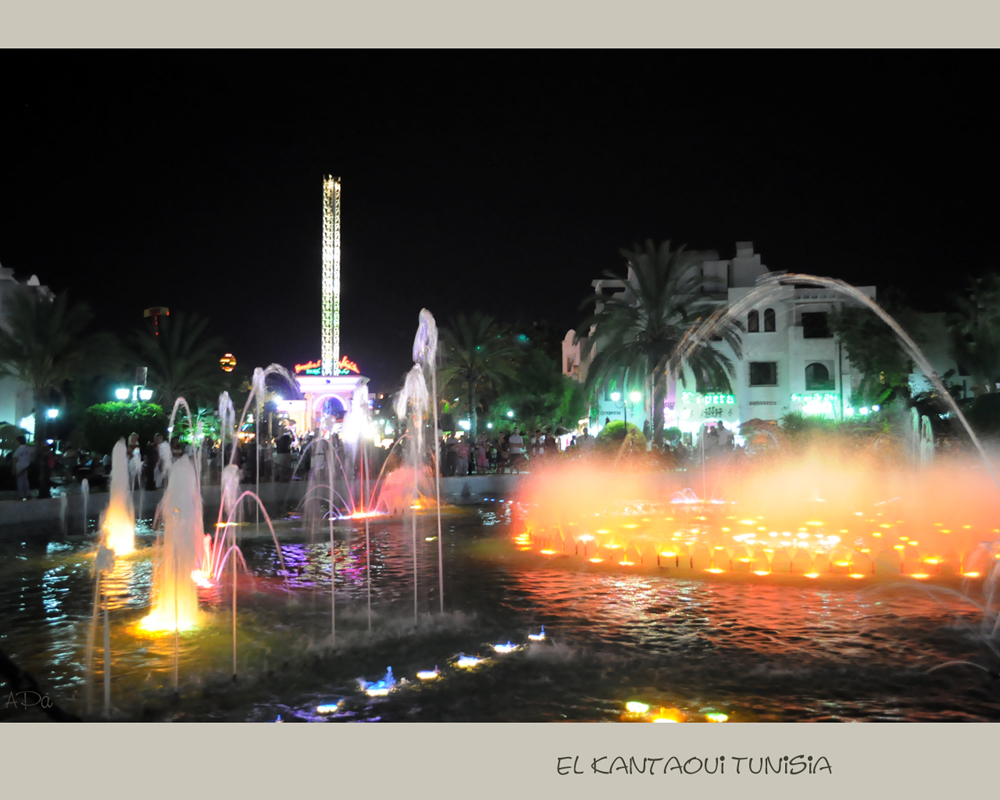 Musik und Lichtershow-Brunnen (2)