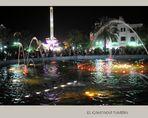 Musik und Lichtershow-Brunnen