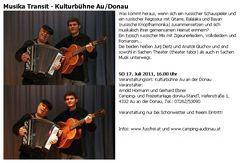 Musika Transit im Programmheft von fussfrei.at
