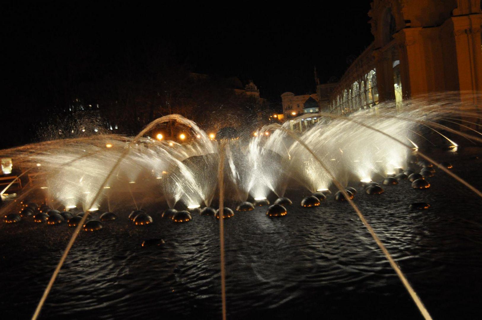 musikalischer Brunnen in Marienbad