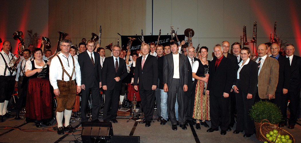 Musikalischer Emfang zur Agrarkredittagung in Berlin