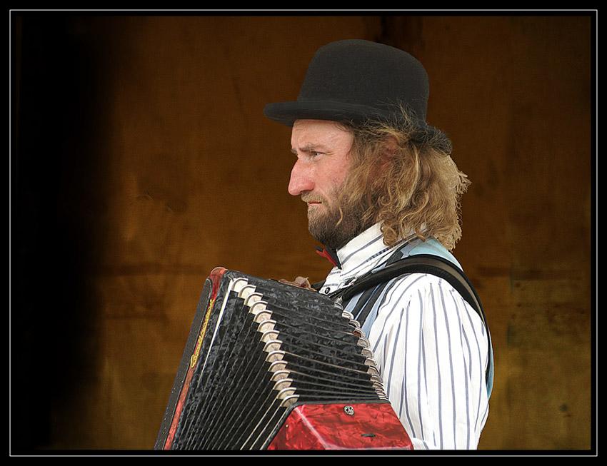 Musikant in Pilsen