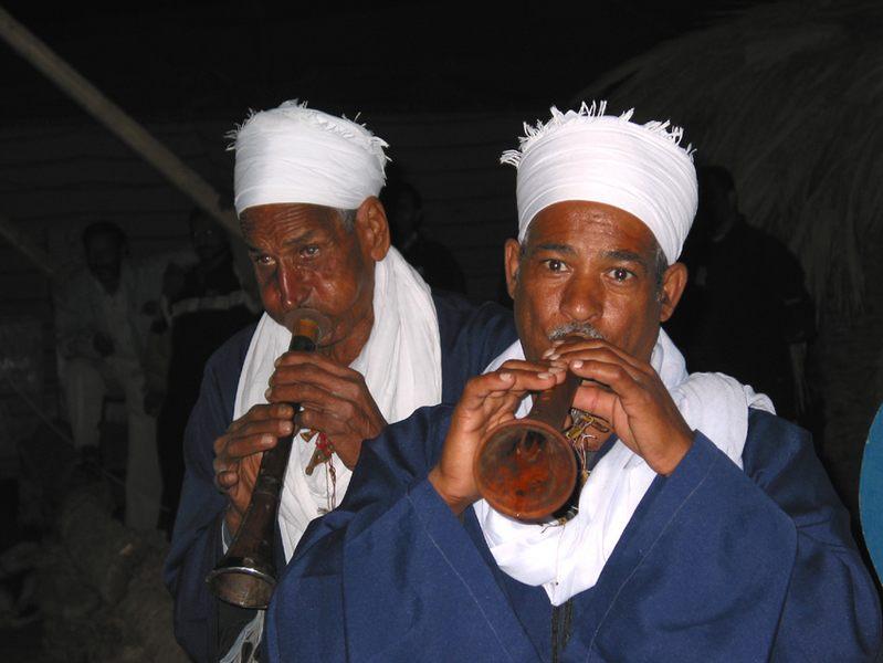 Musikanten in Ägypten