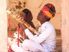 Musiker im Palast Jodhpur