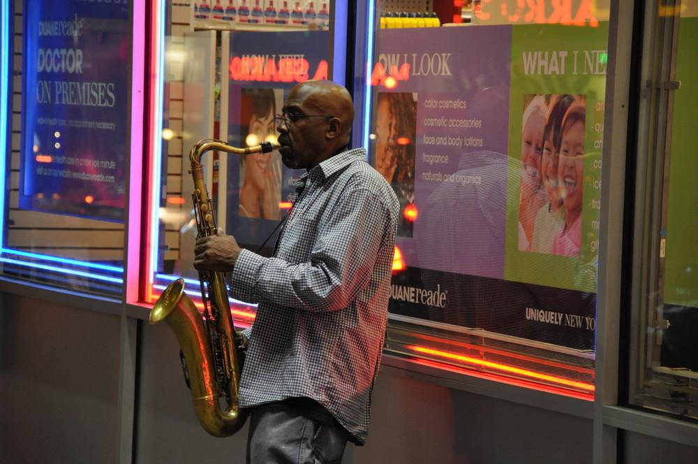 Musiker in New York