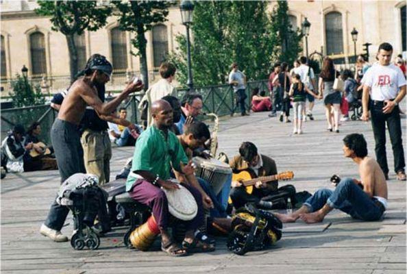 Musiker in Paris