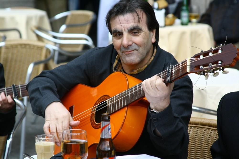 Musiker in Salamanca