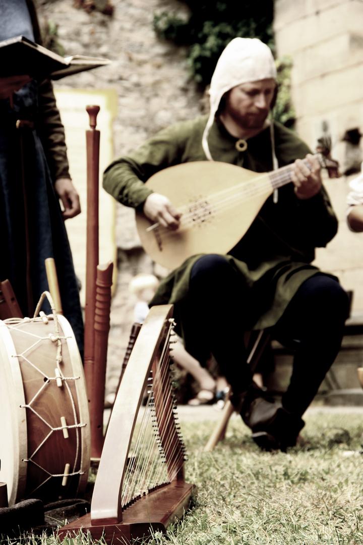 Musiker zur Stauferzeit