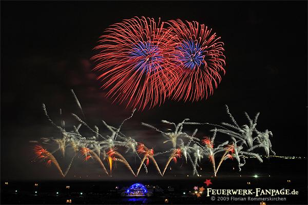 Musikfeuerwerksfestival: PYROMUSIKALE 2009 Nr. 2