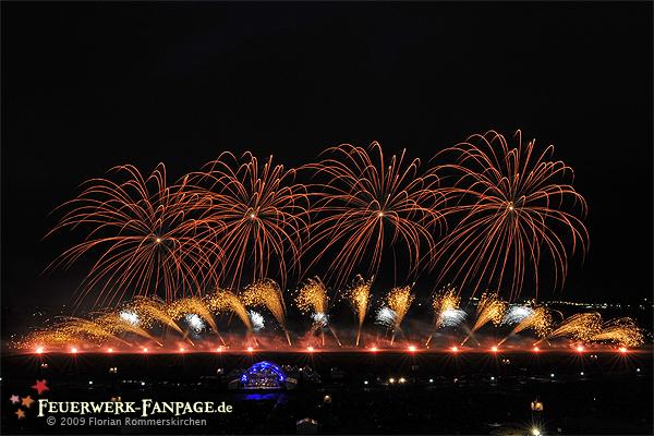 Musikfeuerwerksfestival: PYROMUSIKALE 2009 Nr. 3