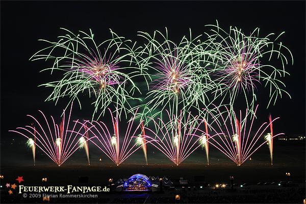Musikfeuerwerksfestival: PYROMUSIKALE 2009 Nr. 5