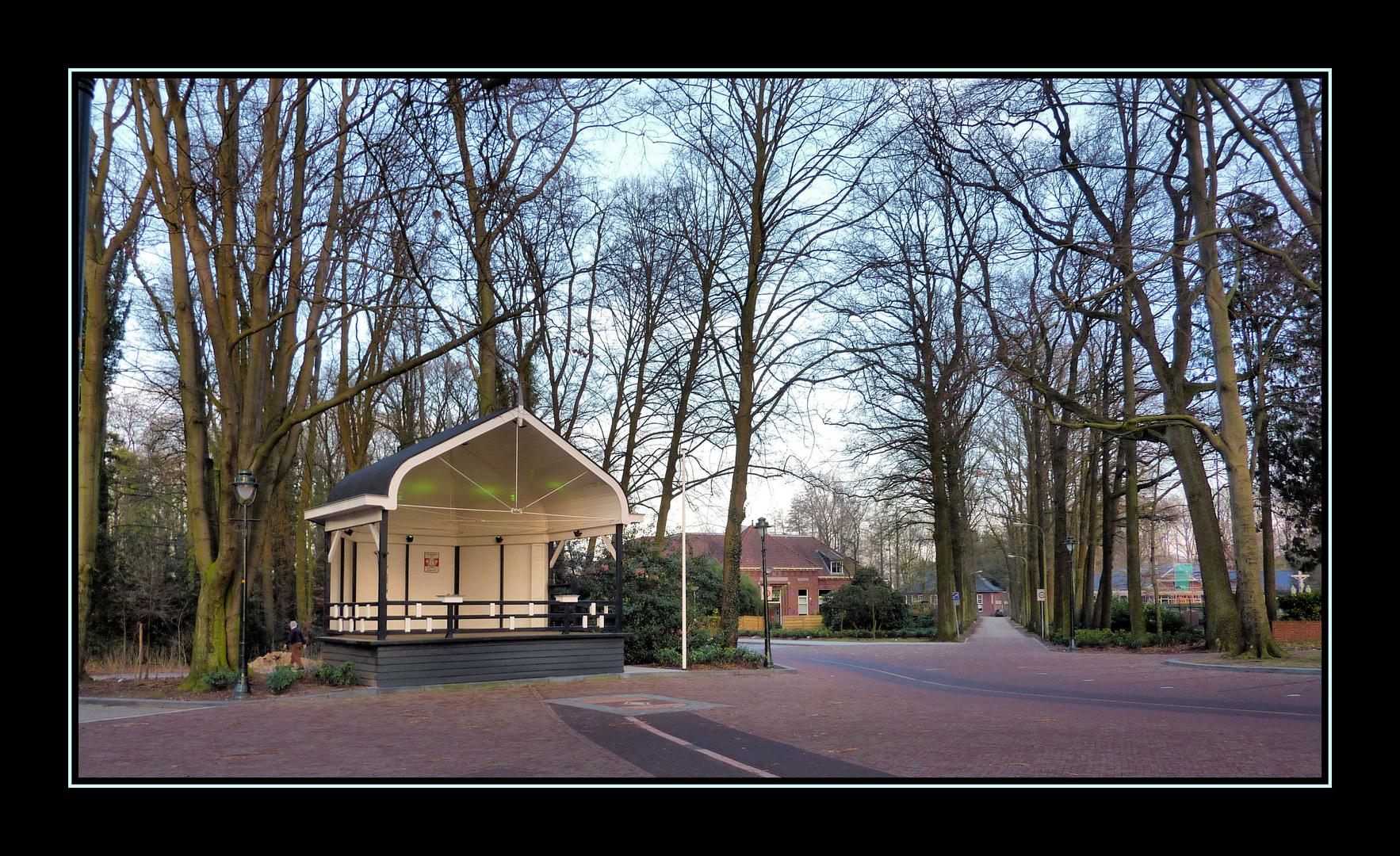 Musikpavillon Lonneker in ( Holland )