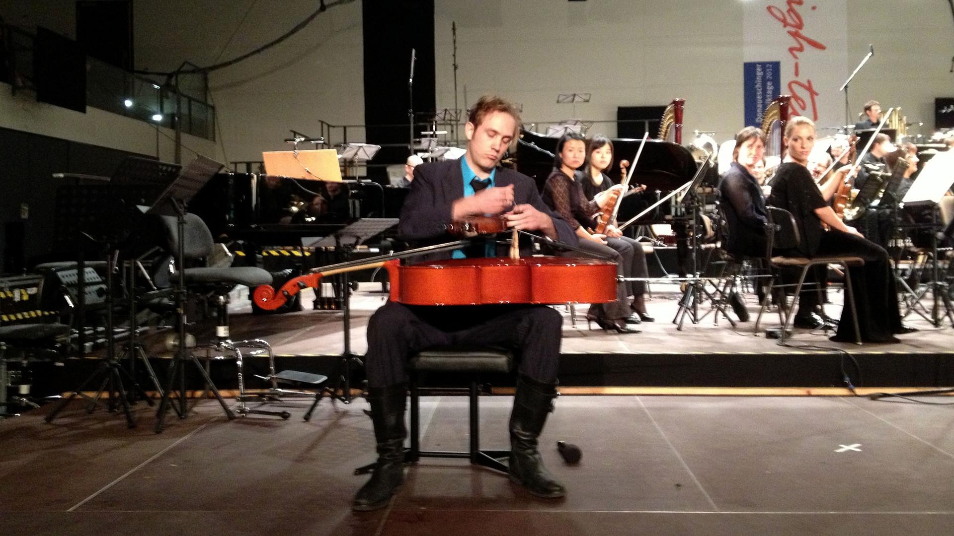 Musiktage Donaueschingen 2012/ Johannes Kreidler im Auftrag der Gesellschaft für Neue Musik