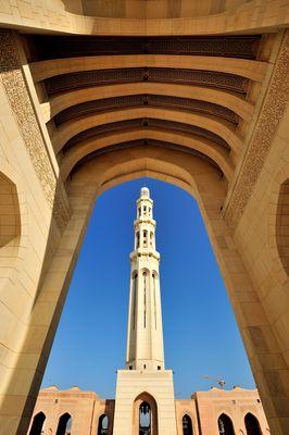 Muskat - Sultan-Qabus-Moschee -2014-