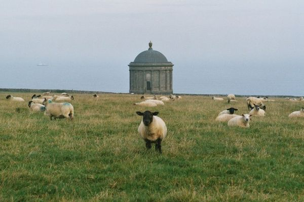 Mussenden Temple, Antrim Coast, Nordirland