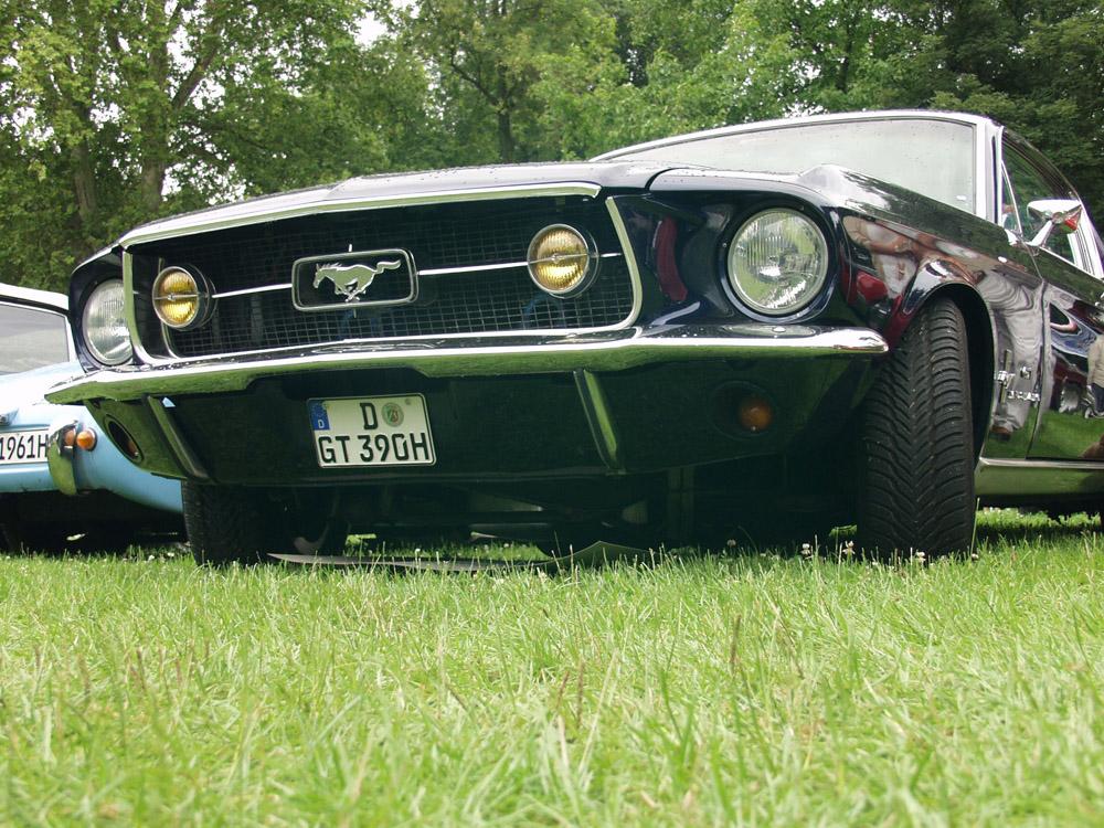 Mustang GT vorne