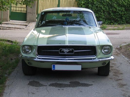 Mustang Hardtop Coupe 1967