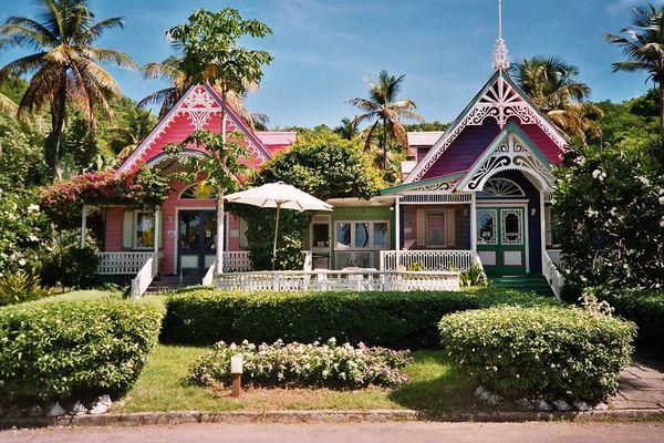 Mustique Häuser
