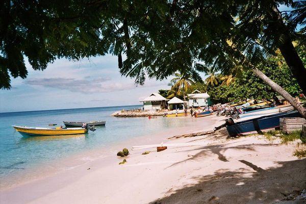 Mustique Hafen