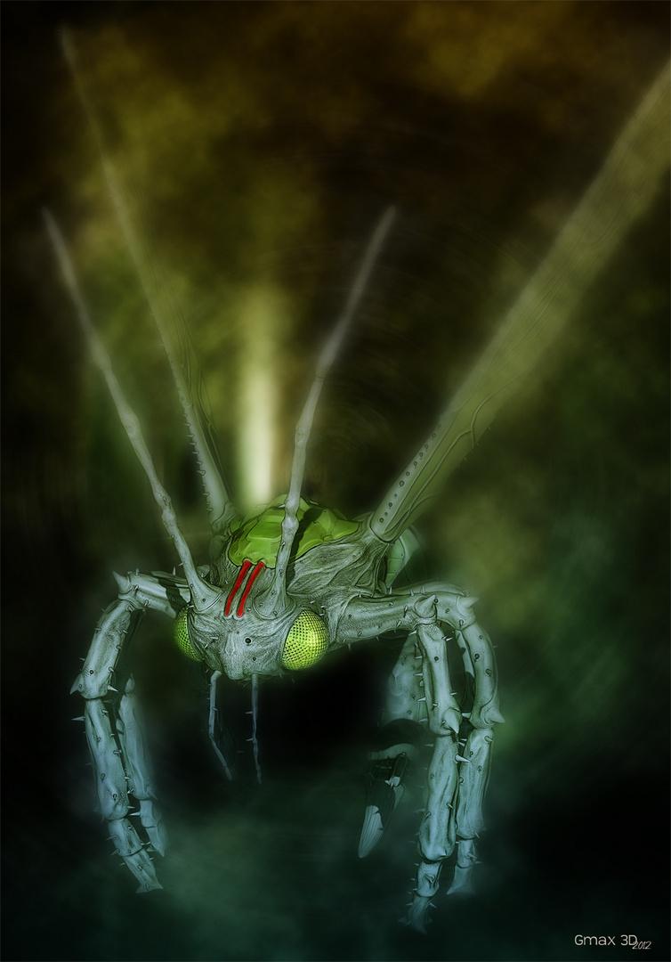 ... mutant wasp ...