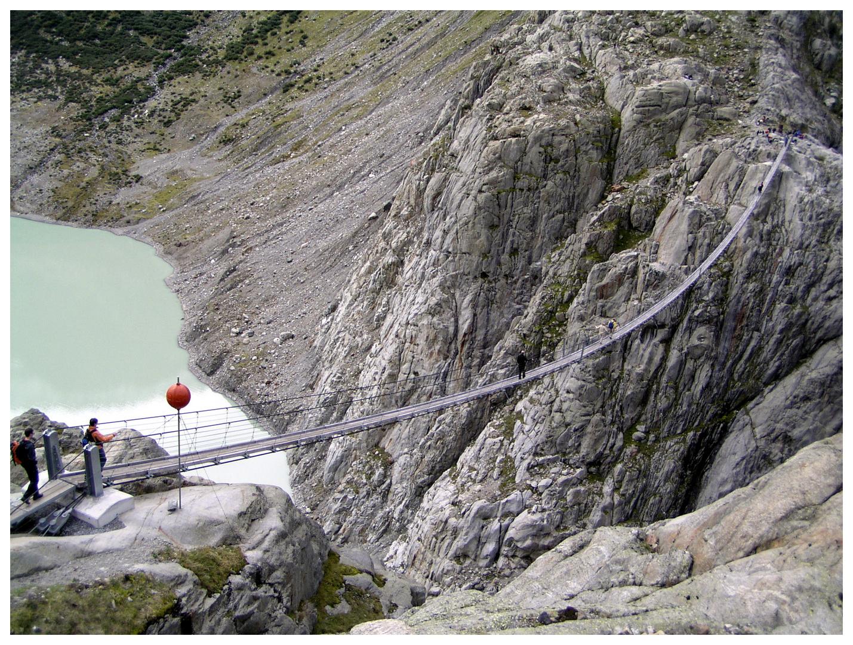 Mutprobe Triftbrücke