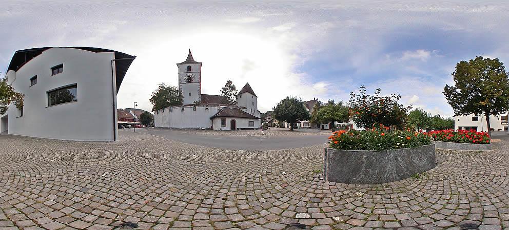 Muttenz, St. Arbogast, aussen