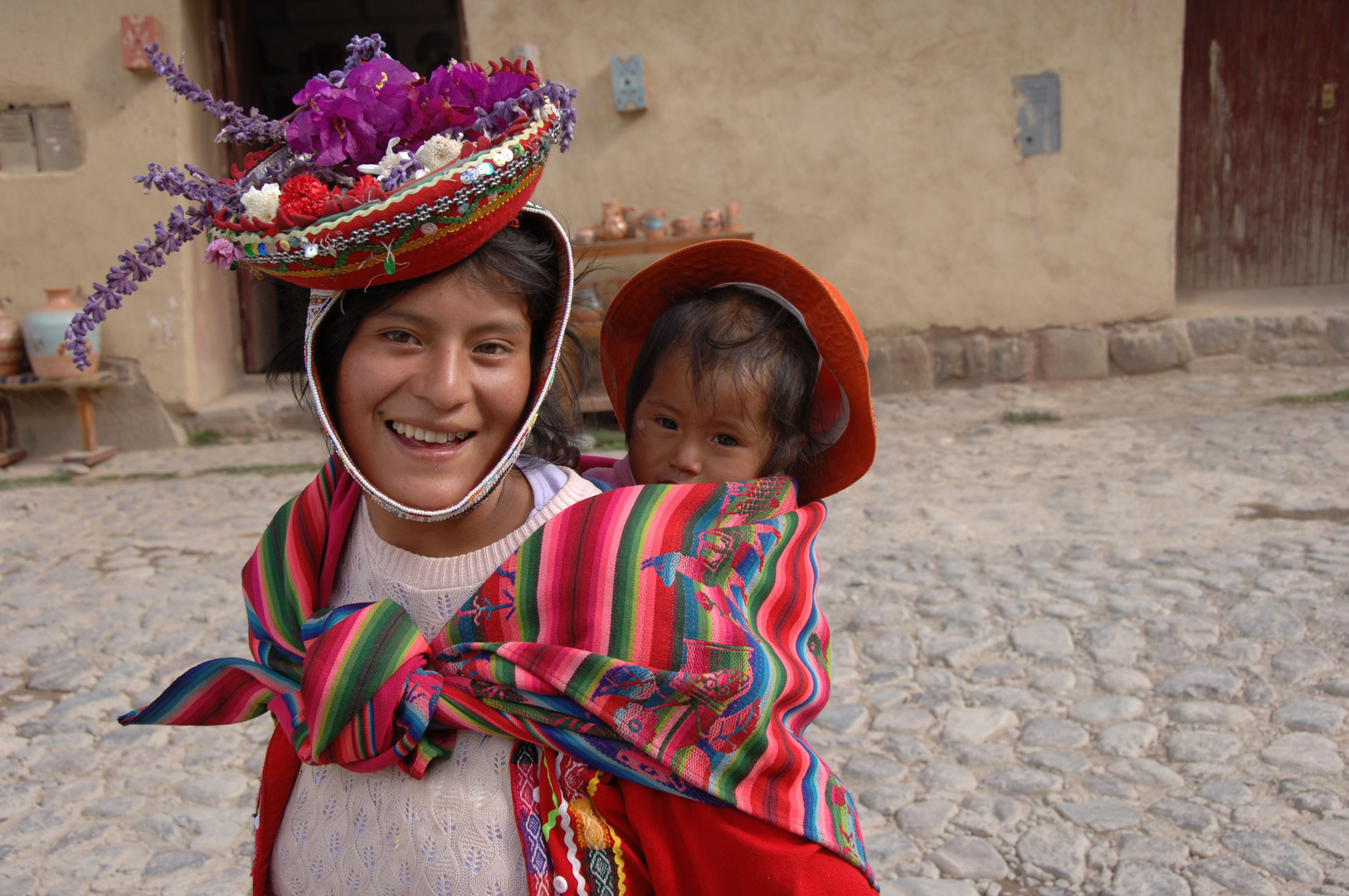 Mutter und Kind, Peru