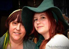 Mutter und Tochter ...