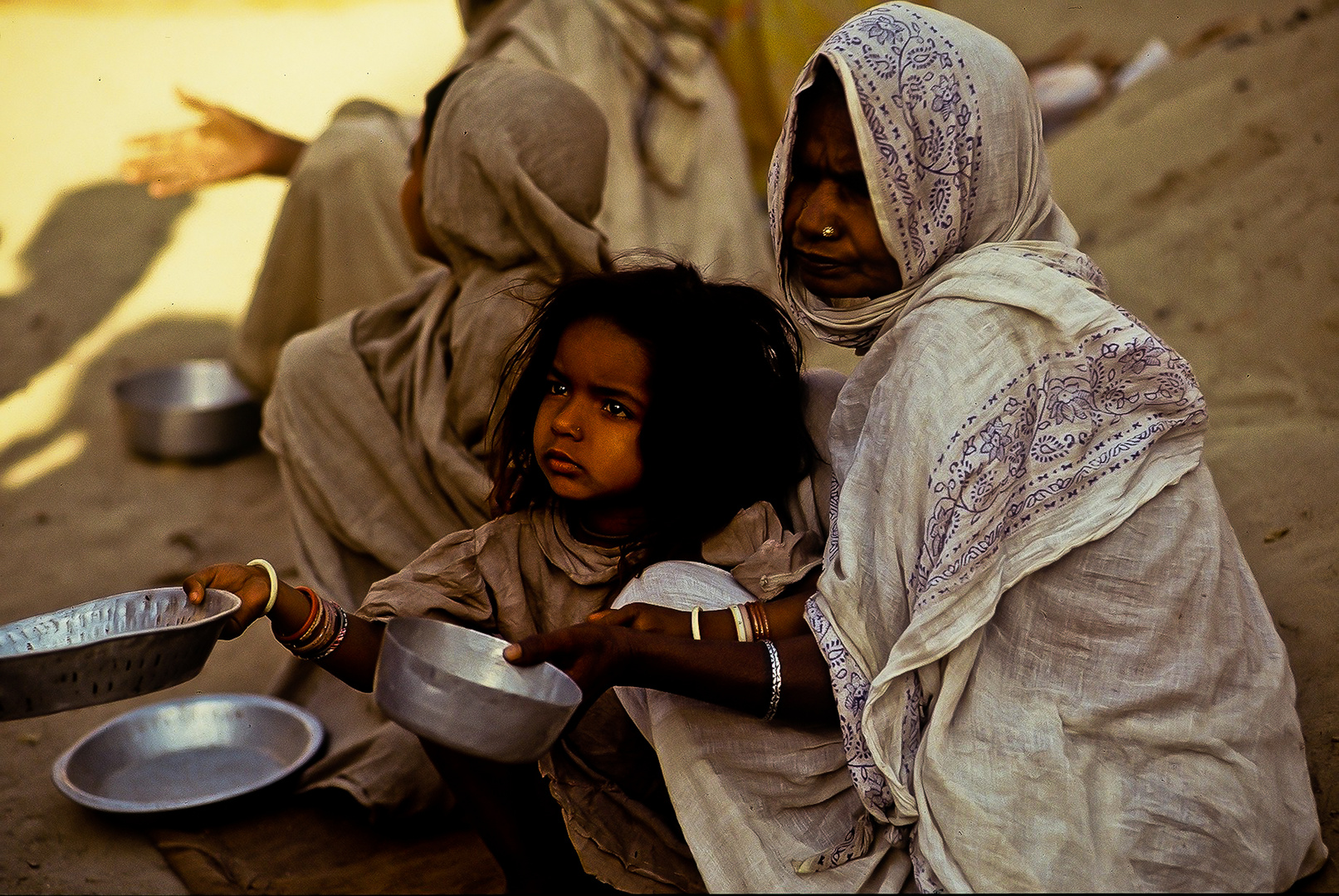 Mutter und Tochter aus Benares