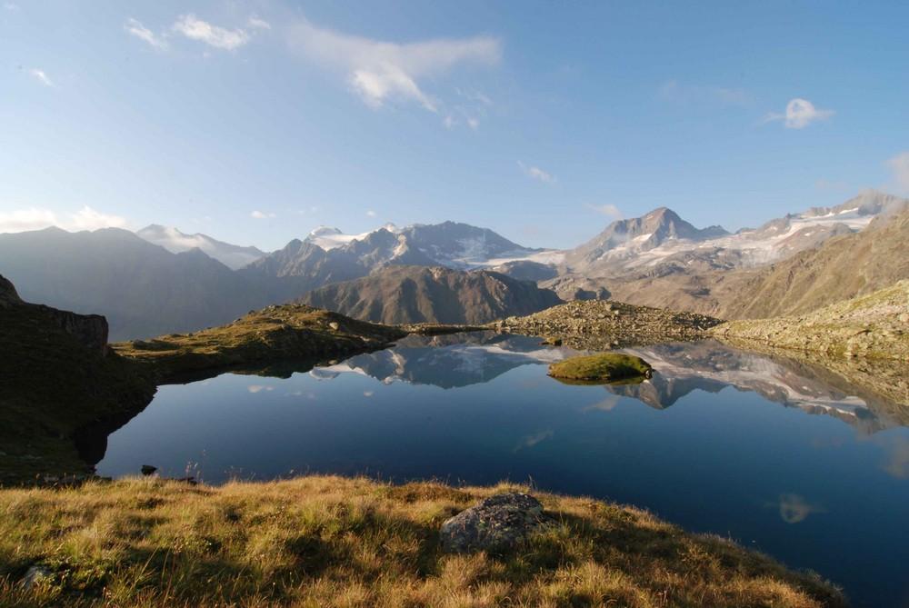 Mutterbergersee am Morgen (Stubaier Alpen)