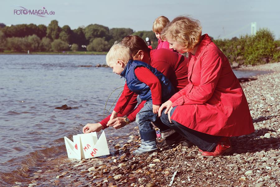 Muttertag am Rhein