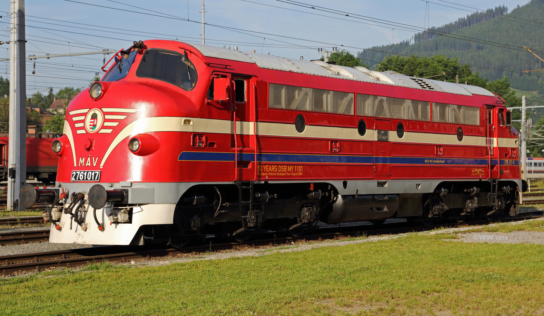 MÁV - Baureihe M61