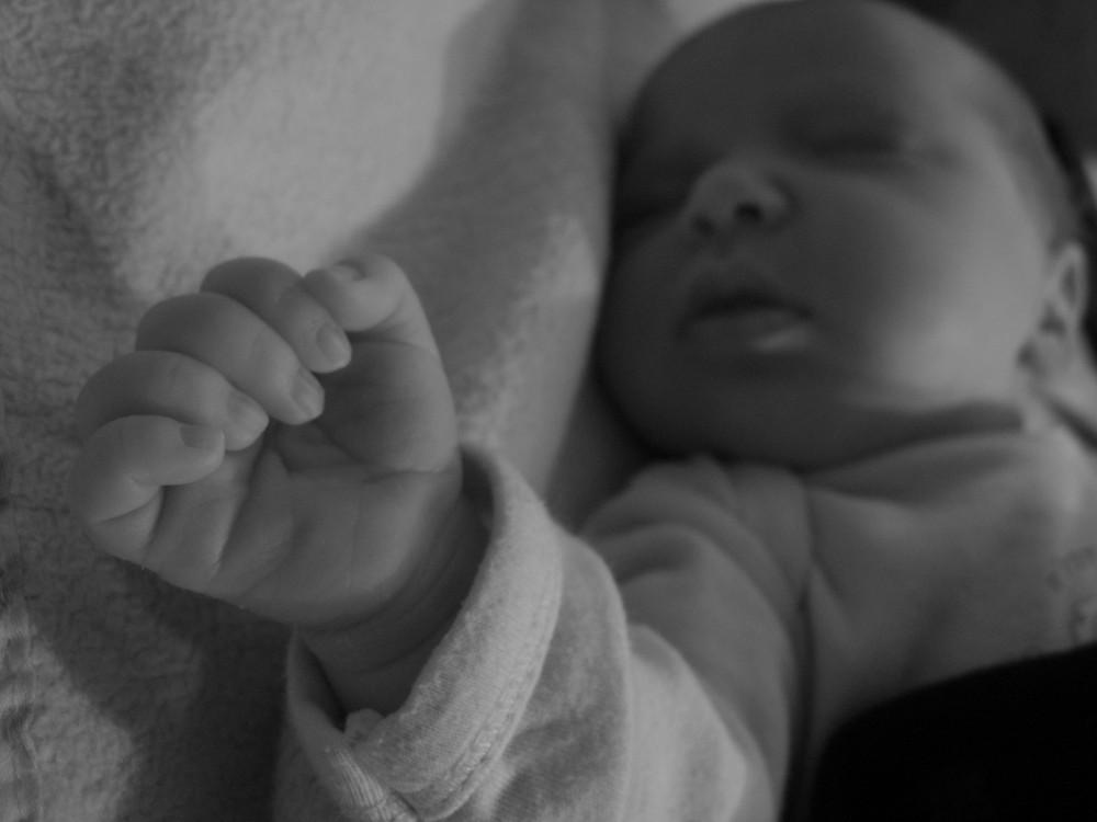 My Babys Hand