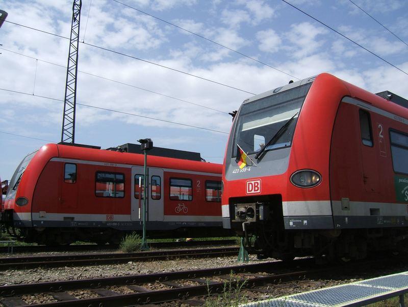 My Best of S-Bahn München, WM 2006, Pasing Betriebsfriedhof