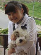 My dog(capkin jojo eviti) and me