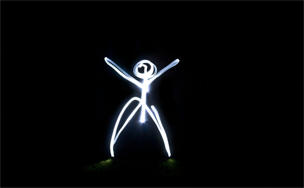 My first Light-Painting