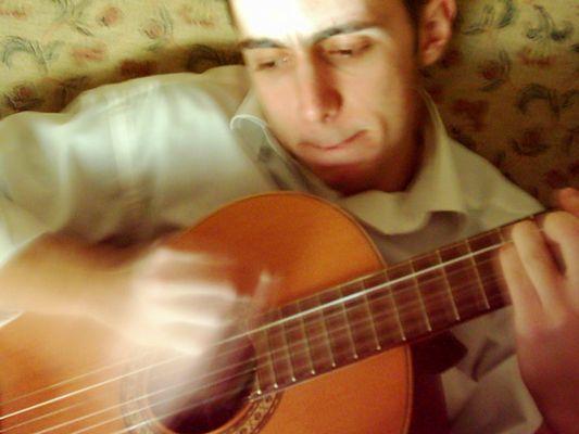 My friend & guitar