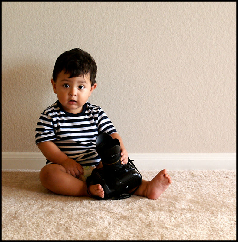 ...my future photographer.